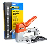 Tacwise Z3-140 Heavy Duty Staple/Nail Gun with 140 Staple Selection Pack and Remover