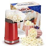 Global Gourmet Popcorn Maker 1200W | Gourmet Popcorn Machine | Best Air Popcorn Popper