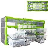 Dihl 22 Multi Drawer Parts Storage Cabinet Unit Organiser Home Garage Tool Box Nail Screw DIY Craft Hobby
