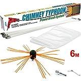 Chimney Typhoon Power Sweeping Set S4U (6 Metre)