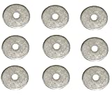 3mm x 12mm PACK OF 10, 20, 50, 100 PIECES STEEL WASHERS BLIND POP RIVET FLANGE METAL WASHER BACKING DISC PPRW1 - By Pentech Moulding Co Ltd (3mm x 12mm PACK OF 50 PIECES STEEL WASHERS PPRW1)