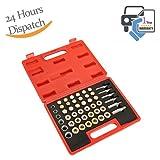 Dromedary Oil Pan Thread Repair Kit Sump Gearbox Drain Plug Tool Set 114pc