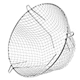 SPARES2GO Universal Stainless Steel Terminal Guard Round Boiler Flue Cage (11'' / 280mm)