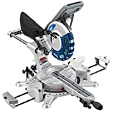 Draper 28043 250 mm 2000 W Double Bevel Sliding Compound Mitre Saw with Laser Cutting Guide