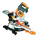 Evolution RAGE3-S300 Multi-Purpose Sliding Mitre Saw with 300mm Slide Capacity, 210 mm (230V)