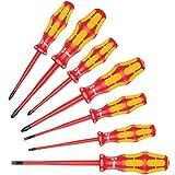 160 iSS/7 screwdriver set Kraftform Plus Series 100. With reduced blade diameter and smaller handle diameters, 7 pieces