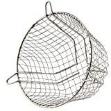 SPARES2GO Universal Stainless Steel Terminal Guard Round Boiler Flue Cage (7'' / 180mm)