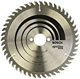 Bosch 2608641186 OPWOH 'Top Precision' Circular Saw Blade with 48 Teeth, 0 V, Silver, 190 x 30 mm
