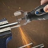 【Best Deals】OriGlam Safety Protective Cover Transparent Cover Shield, Mini Drill Holder Power Tool for Electric Grinder, Dremel Grinder