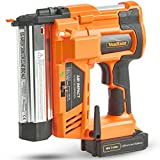 VonHaus Cordless Electric 2 in 1 Nail & Staple Gun with in Built Air Compression 18V Max. 2Ah (2,000mAh) Li-ion Battery - Heavy Duty - Includes 200 Nails/Staples Model no. 15/220