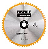 DEWALT DT1959 305 x 30 mm x 48 T  Construction Circular Saw Blade - Yellow/Black