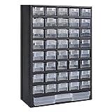 Anself 41 Drawer Multi Plastic Storage Cabinet Tool Box DIY Garage