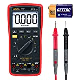 RAGU 17B Multimeter 6000 Count with Ohm Volt Amp Diode Continuity Test, Backlit LCD Display, Auto-Ranging Electronic Measuring Instrument Tester