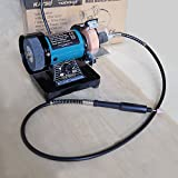 3' 70MM Multi-function Electric Bench Grinder Polisher Drilling W/ Shaft 100081
