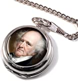 President Martin Van Buren Full Hunter Pocket Watch