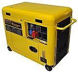 Silent Diesel Generator 6 Kw - Electric start - Three-fase