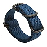 Gemony Nato Strap Premium Ballistics Watch Band 22mm Interchangeable Watch Strap Zulu (22MM, WB-013F22)
