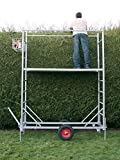 Henchman 55 Wheeled Garden Work Platform - Made in Britain - BS EN131 Standards - Professional Trade Quality Ladders by Henchman