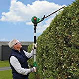 450W Electric Telescopic Pole Hedge and Bush Trimmer