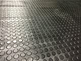 3m x 1.5m | Coin Rubber Garage Flooring Matting | 16 Sizes to Choose from on This Listing | 3mm Thick Floor Mat | A Grade | 9ft 9' x 4ft 9' | 118' x 57 Inches | 300 x 150cm