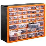 VonHaus 44 Multi Drawer Storage Cabinet Organiser
