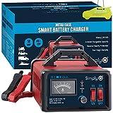 Simply 6V / 12V 10Amp Heavy Duty Metal Case Smart Battery Charger + IgnitionLine Air Freshener