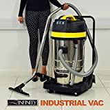 3000W Double Motor Wet & Dry 80L Vacuum Cleaner